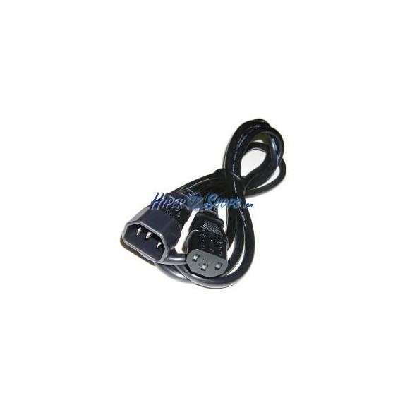 Cable Alimentación IEC-60320 1 m (C13 / C14)