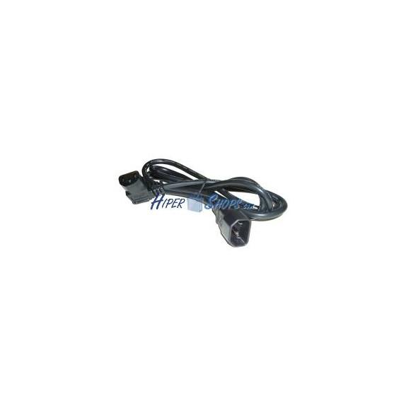 Cable Alimentación IEC-60320 1.8m (C13-Acodado / C14)