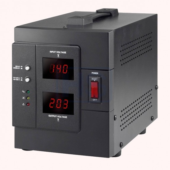 Regulador Automático de Voltaje Lapara AVR 3000VA / 2400W