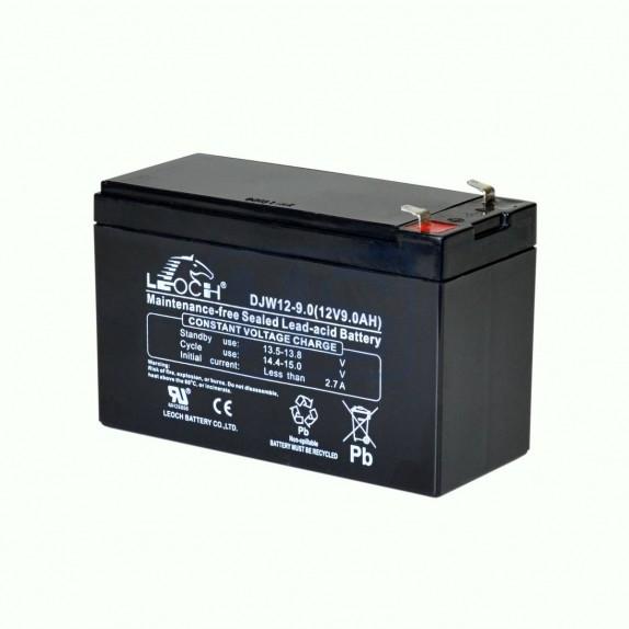 Batería AGM de 12V y 9Ah Leoch
