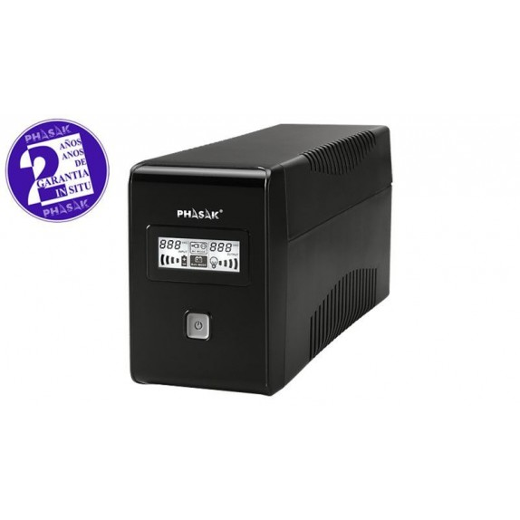 SAI PHASAK 650VA LCD USB+RJ