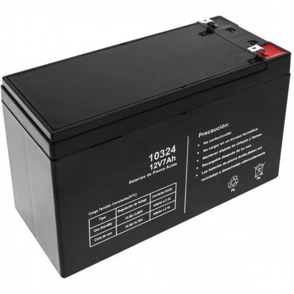 Batería de recambio sellada de plomo-ácido de 12V 7Ah para reparaciones de SAI