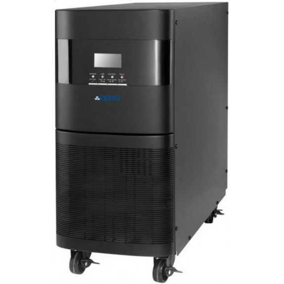 SAI Lapara 10000VA/9000W v09, on-line, doble conversión, 2x IEC, 2 LNG, USB/RS232, RJ45, LCD