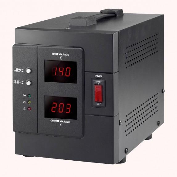 Regulador Automático de Voltaje Lapara AVR 2000VA / 1600W