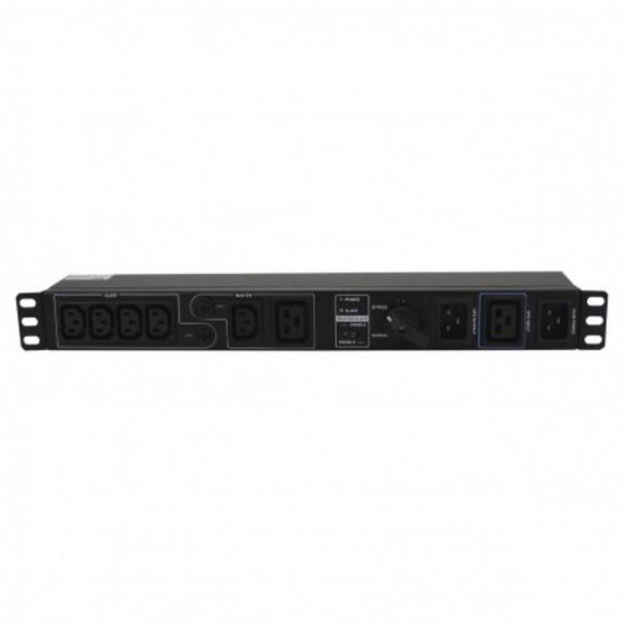 Switch bypass Lapara de mantenimiento Rack 19 Regleta IEC