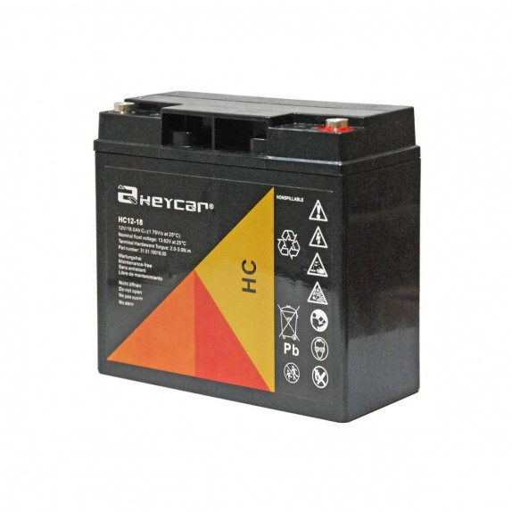 Batería AGM de 12V/18Ah