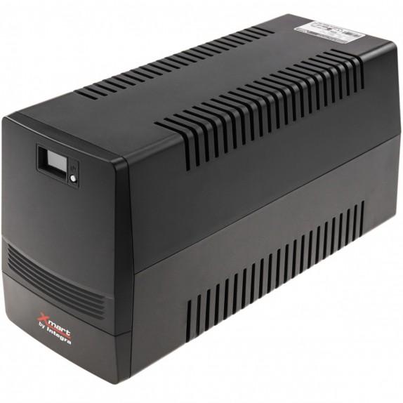 SAI de linea interactiva Supra de 1100VA 600W con 4 schuko