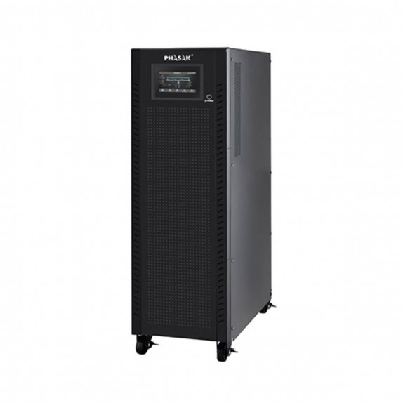 SAI Phasak de entrada-salida trifásica 40000VA/40000W, on-line, doble conversión, 3F-3F