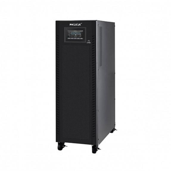 SAI Phasak de entrada-salida trifásica 20000VA/20000W, on-line, doble conversión, 3F-3F
